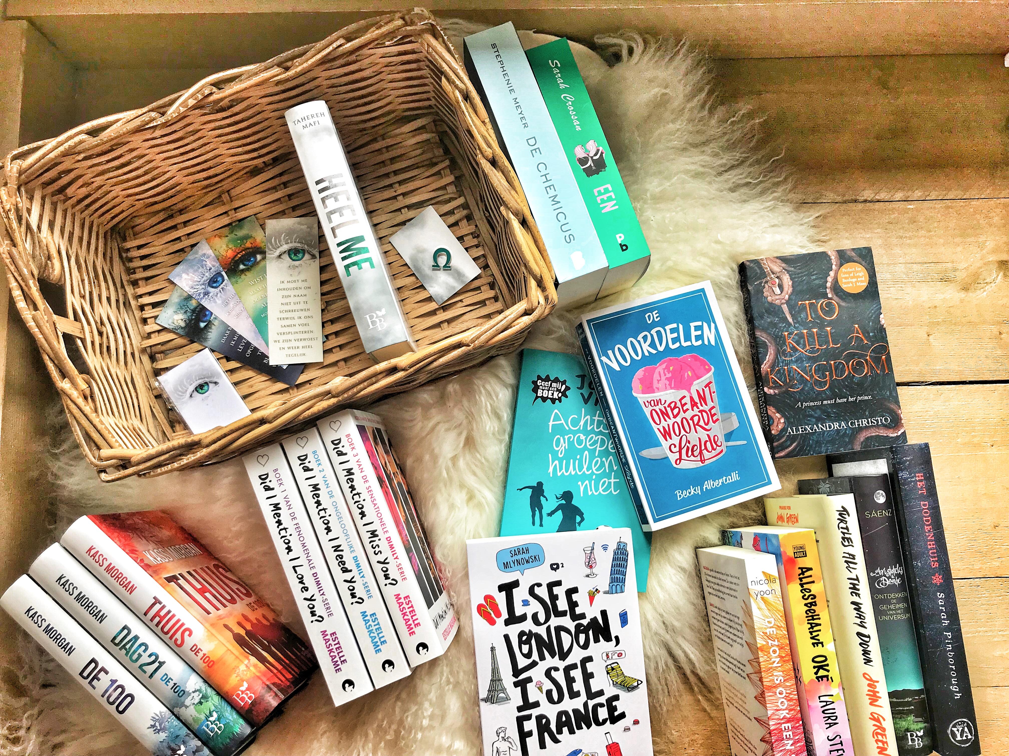 Jaaroverzicht (2): boeken die ik dit jaar kocht en las – deel 1