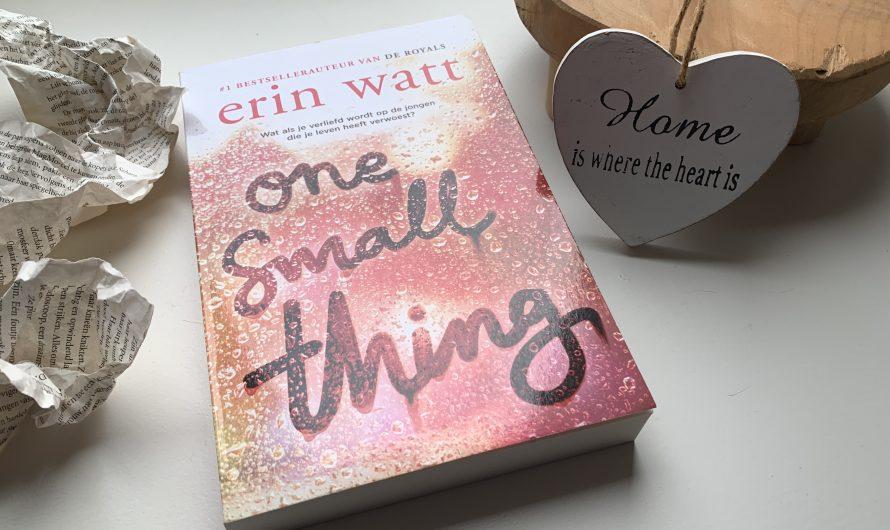 One small thing – Erin Watt