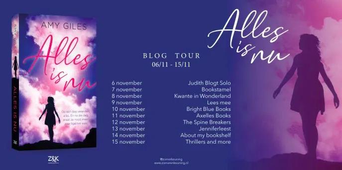 Blogtour: Alles is nu – Amy Giles