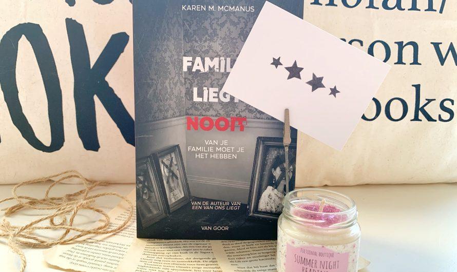 Familie liegt nooit – Karen M. McManus